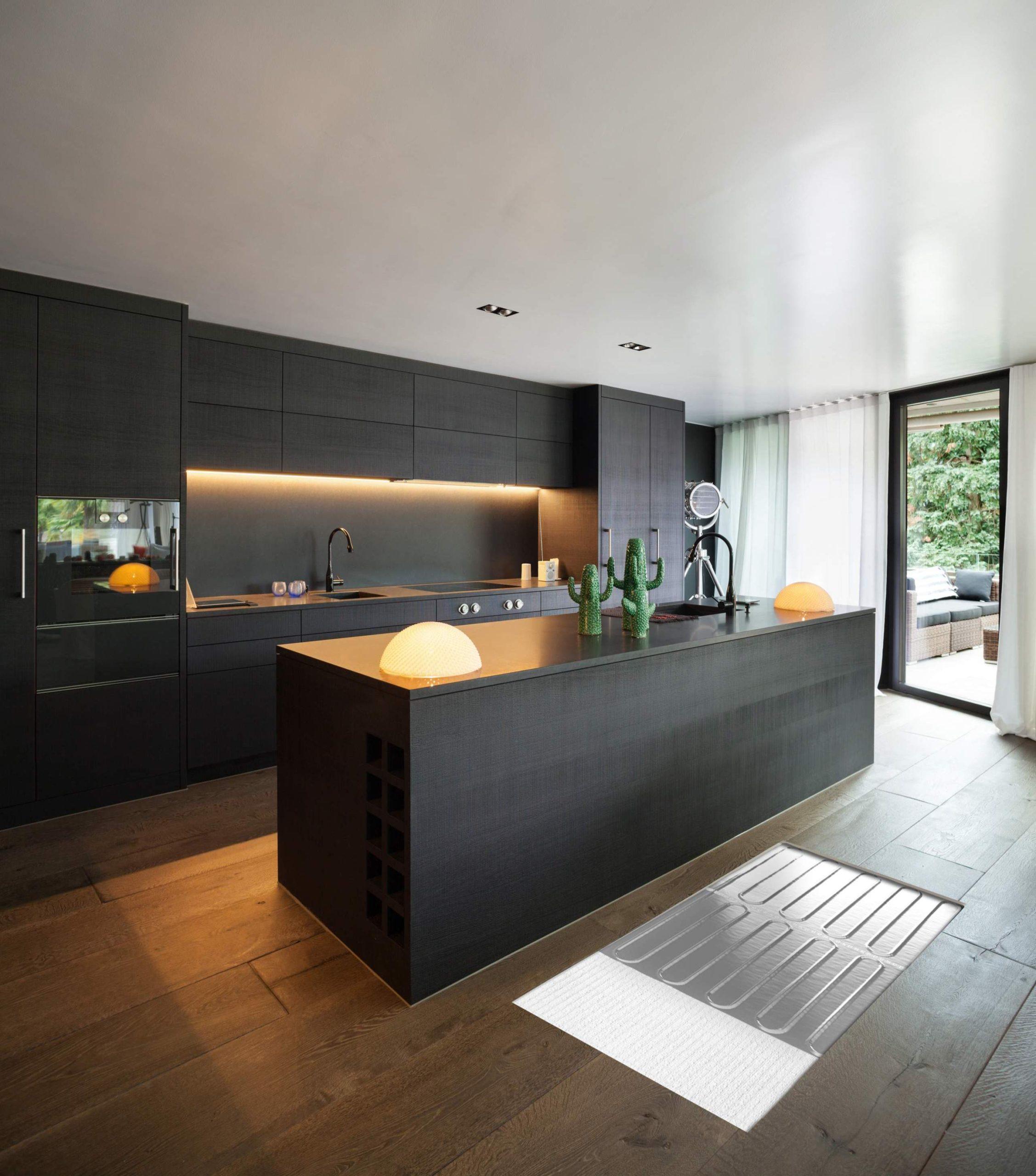 Foil Heater in Kitchen